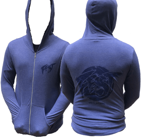 e5806f728 SUMMER HOODIE = $30. S, M, L, XL * Printed on Anvil Tri-Blend. * Heather  Blue.